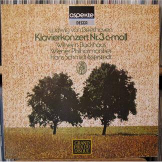 Beethoven* / Wilhelm Backhaus / Wiener Philharmoniker / Hans Schmidt-Isserstedt - Klavierkonzert No. 3 C-Moll /