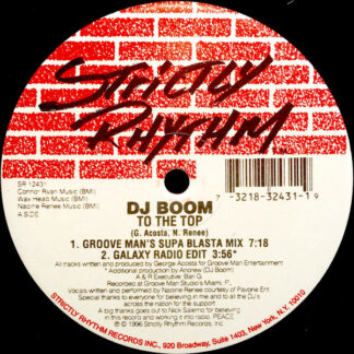DJ Boom - To The Top (12