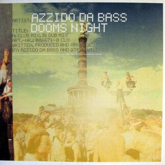 Azzido Da Bass - Dooms Night (12