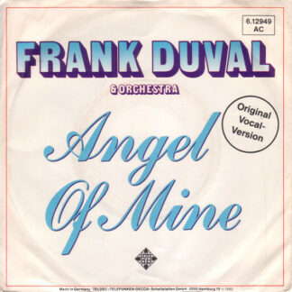 Frank Duval & Orchestra - Angel Of Mine (7
