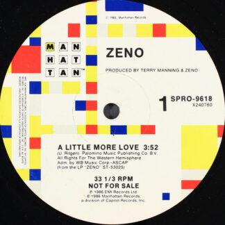 Zeno (5) - A Little More Love (12