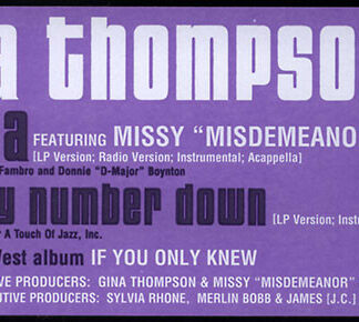 Gina Thompson - Ya Di Ya / Take My Number Down (12