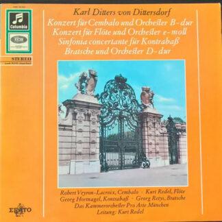 Karl Ditters von Dittersdorf* - 2 Concerti - Sinfonia Concertante (LP, Album, Mono)