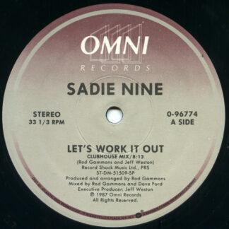 Sadie Nine - Let's Work It Out (12