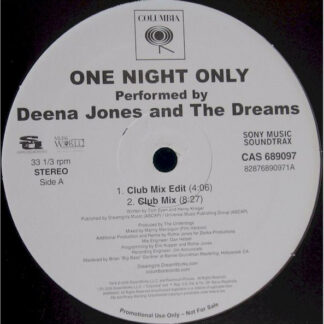 Deena Jones And The Dreams - One Night Only (12