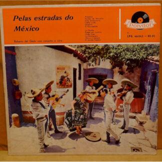 Roberto Del Gado Com Conjunto E Côro* - Pelas Estradas Do México (LP, Album, Mono)
