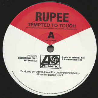 Rupee - Tempted To Touch (12
