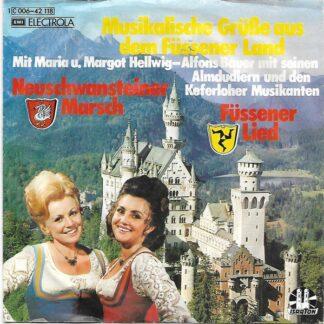 Maria & Margot Hellwig, Alfons Bauer Mit Seine Almdudler*, Die Keferloher Musikanten - Musikalische Grüße Aus Dem Füssener Land (7