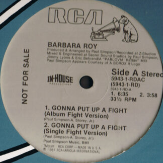 Barbara Roy - Gonna Put Up A Fight (12