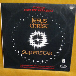 Mike Trounce, Mike Allen (8), Martin Jay, Jenny Mason - Jesus Christ Superstar (Excerpts From The Rock Opera) (LP)