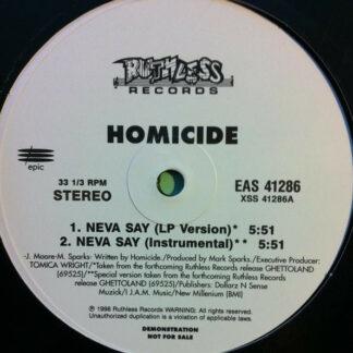 Homicide - Neva Say (12