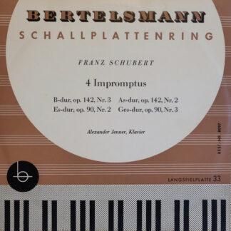 Franz Schubert - Alexander Jenner - 4 Impromptus (10