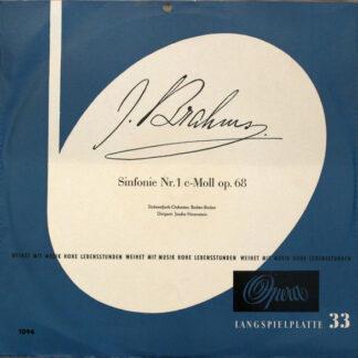 Brahms* - Südwestfunk-Orchester, Baden-Baden* , Dirigent: Jascha Horenstein - Symphonie Nr. 1 C-Moll Op. 68 (LP, Club)