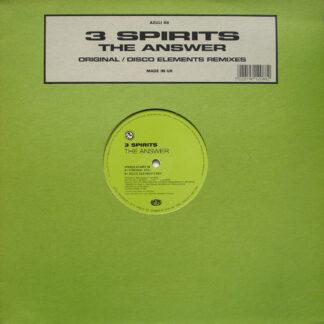3 Spirits - The Answer (Original / Disco Elements Remixes) (12