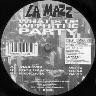 La Mazz - What's Up With The Party (12