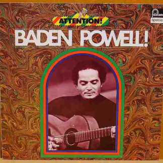 Baden Powell - Attention! Baden Powell! (LP, Comp, RP)