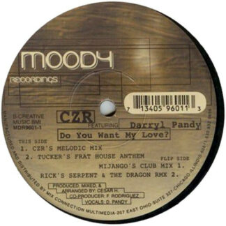CZR Featuring Darryl Pandy - Do You Want My Love? (12