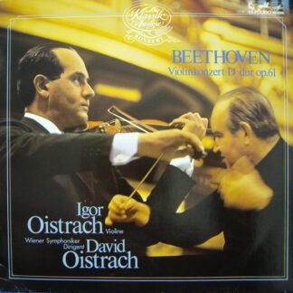 Beethoven*, Igor Oistrach, Wiener Symphoniker, David Oistrach - Violinkonzert D-dur Op. 61 (LP)
