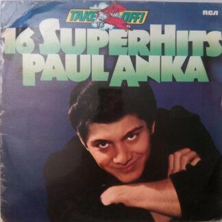 Paul Anka - 16 Super Hits (LP, Comp)