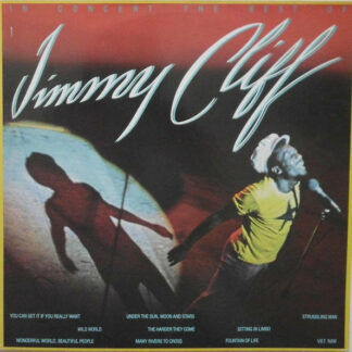 Jimmy Cliff - In Concert - The Best Of Jimmy Cliff (LP, Album)
