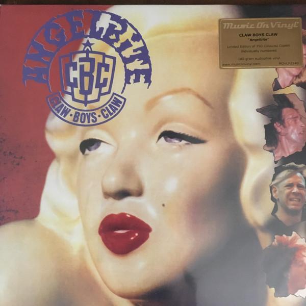 Claw Boys Claw – Angelbite (LP, Album, Ltd, Num, RE, Red)