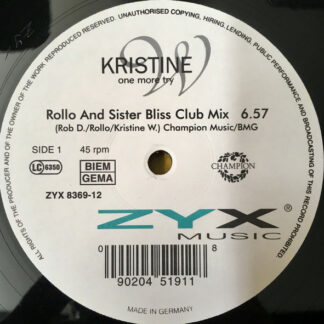 Kristine W - One More Try (12