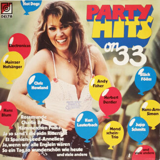 Various - Party-Hits 33 (LP, Comp)