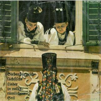 Grete Lienert-Zultner - Siebenbürgisch-Sächsische Lieder In Volkstümlichem Stil (10