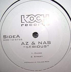 AZ & Nas - Serious / Live Wire (12
