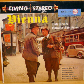 Fritz Reiner, Chicago Symphony* - Vienna (LP, Album)
