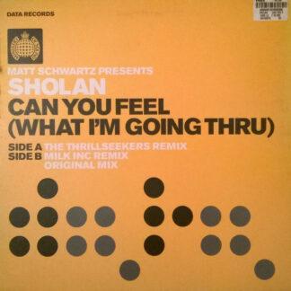 Matt Schwartz Presents Sholan - Can You Feel (What I'm Going Thru) (12