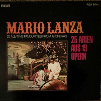 Mario Lanza - 25 Arien Aus 19 Opern (2xLP, Comp + Box)