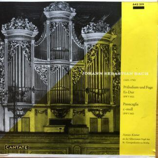 Hannes Kästner, Johann Sebastian Bach - Präludium und Fuge Es-Dur (10