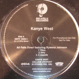 Kanye West - All Falls Down (12