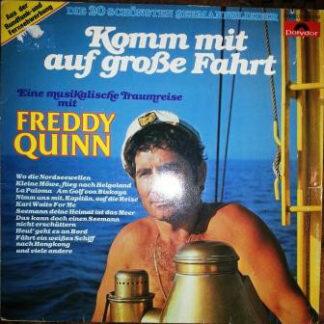 Freddy Quinn - Komm Mit Auf Große Fahrt (LP, Comp)