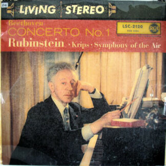 Beethoven* - Rubinstein*, Krips*, Symphony Of The Air - Concerto No. 1 (LP)