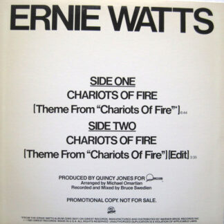 Ernie Watts - Chariots Of Fire (12