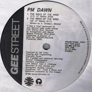 P.M. Dawn - The Ways Of The Wind (12