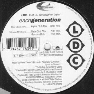 LDC Feat. D. Christopher Taylor - Each Generation (12