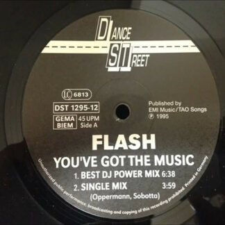 Flash (4) - You've Got The Music (12