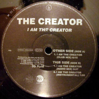 The Creator (10) - I Am The Creator (12