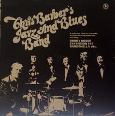 The Chris Barber Jazz And Blues Band - The Chris Barber Jazz And Blues Band (LP)