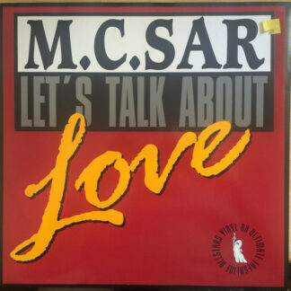 M.C. Sar & The Real McCoy* - Let's Talk About Love (12