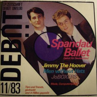 Various - Debüt LP / Zeitschrift Ausgabe 1 (LP, Comp)