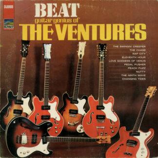 The Ventures - Beat Guitar Genius Of The Ventures (LP, Comp, RE)
