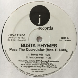 Busta Rhymes feat. P. Diddy - Pass The Courvoisier (12