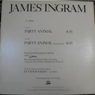 James Ingram - Party Animal (12