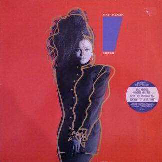 Janet Jackson - Control (LP, Album, Ltd, Bla)