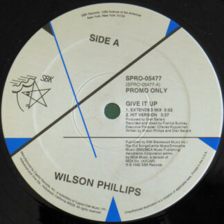 Wilson Phillips - Give It Up (12