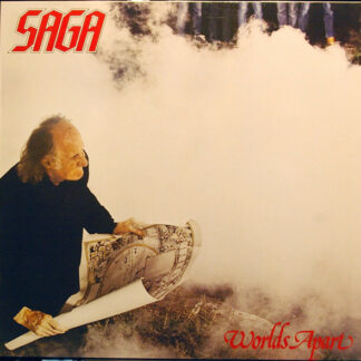 Saga (3) - Worlds Apart (LP, Album, RE)